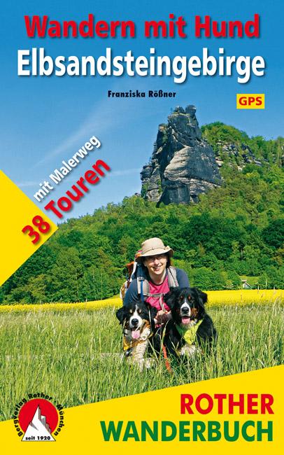 3763331573 Rother Wanderbuch Wandern mit Hund Elbsandsteingebirge