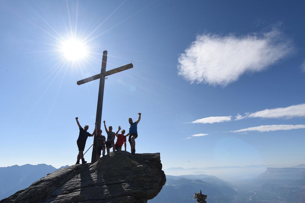 Hoch hinauf - Meraner Höhenweg, Südtirol