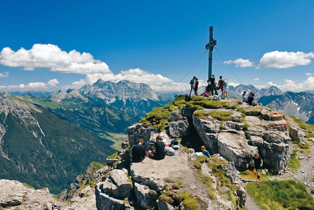 Gipfelglück Lechtaler Alpen