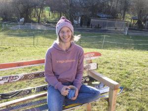 Petra Zink, Outdoor-Yoga für Kletterer