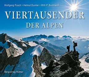 Buchtipp Viertausender der Alpen, Bergverlag Rother